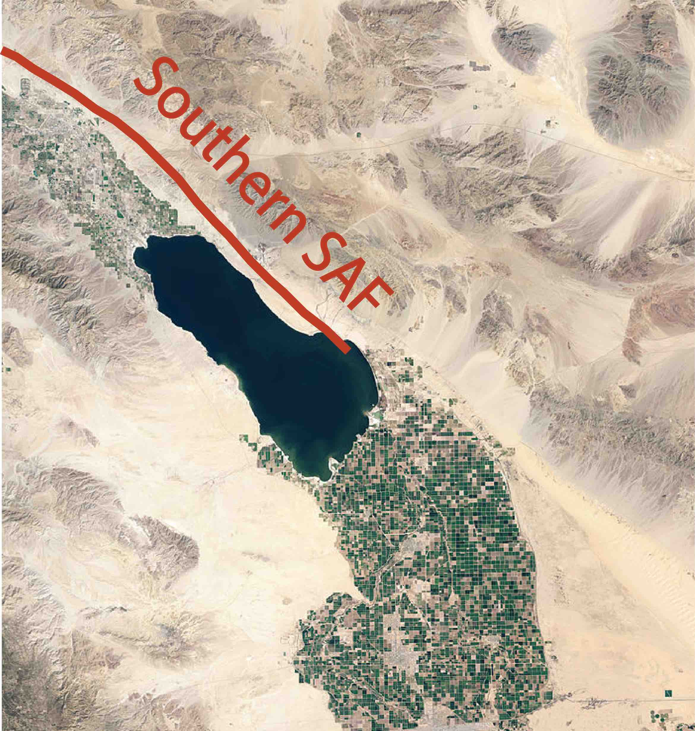 San Andreas Fault From Space Interseismic st...